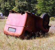 Upside Down Truck by WildestArt