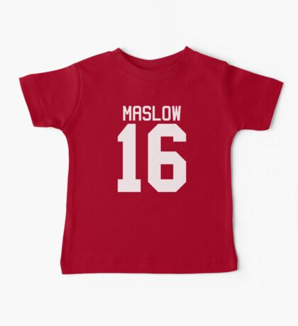 James Maslow jersey - white text Baby Tee