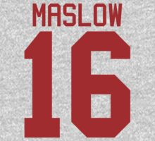 James Maslow jersey - red text One Piece - Long Sleeve