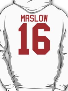 James Maslow jersey - red text T-Shirt