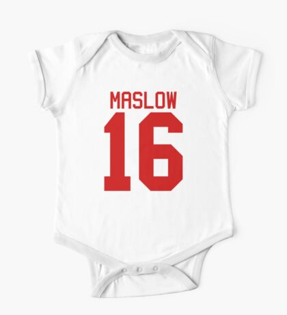 James Maslow jersey - red text One Piece - Short Sleeve