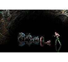 Alien 3 pixel art Photographic Print