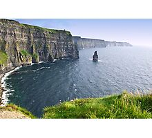 cliffs of moher scenic landscape seascape ireland Photographic Print