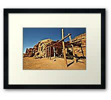 IF You Have Rock,..Make House Framed Print