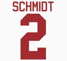 Kendall Schmidt jersey - red text by sstilinski