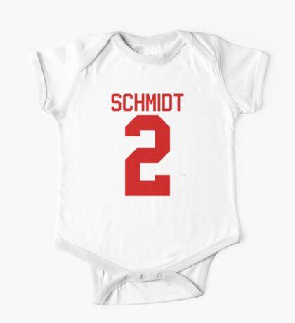 Kendall Schmidt jersey - red text One Piece - Short Sleeve