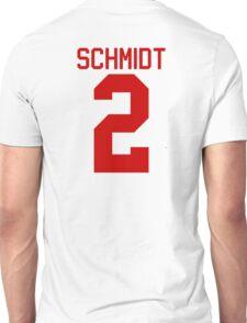 Kendall Schmidt jersey - red text Unisex T-Shirt