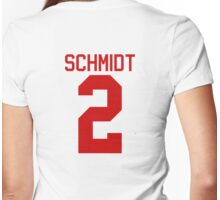 Kendall Schmidt jersey - red text Womens Fitted T-Shirt