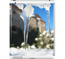 Ice point of view iPad Case/Skin