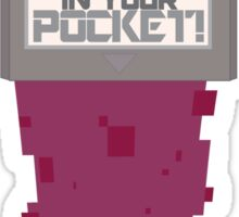 POWER in your POCKET Sticker