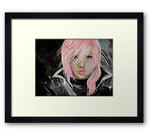 Lightning Final Fantasy XIII Framed Print