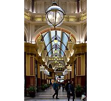 Arcade lighting Photographic Print