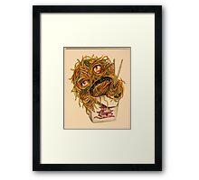 Wok Ness Monster Framed Print