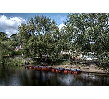 Wansbeck Rowing Boats  Photographic Print