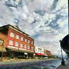 Parting Clouds Over Franklin, NC by Jean Gregory  Evans