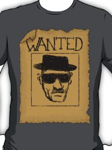 Wanted - Heisenberg T-Shirt
