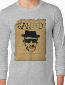 Wanted - Heisenberg Long Sleeve T-Shirt