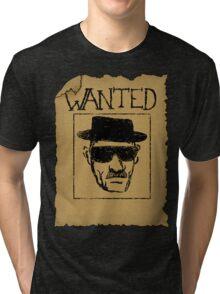 Wanted - Heisenberg Tri-blend T-Shirt