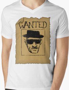 Wanted - Heisenberg Mens V-Neck T-Shirt