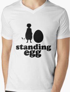 Standing Egg Mens V-Neck T-Shirt