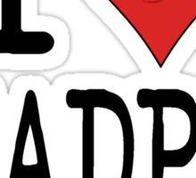 I LOVE DEADPAN COMEDY  Sticker