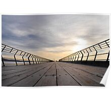 lorne pier, great ocean road, victoria, australia Poster