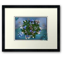©DA Mini Alien World IIA Framed Print