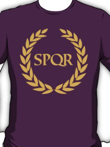 Camp Jupiter - SPQR T-Shirt