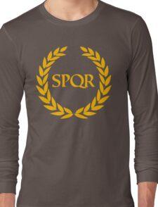 Camp Jupiter - SPQR Long Sleeve T-Shirt