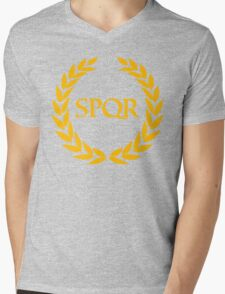 Camp Jupiter - SPQR Mens V-Neck T-Shirt