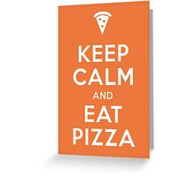 PIZZA! Greeting Card