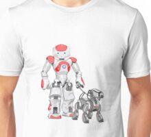 The Dog Walker (Red) Unisex T-Shirt