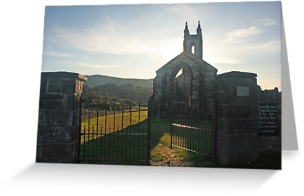 Dunlewey Church by Adrian McGlynn