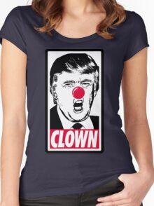 Trump - Clown Women's Fitted Scoop T-Shirt
