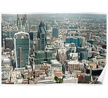 london from the shard Poster