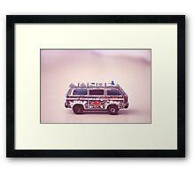 Toy Ambulance Framed Print