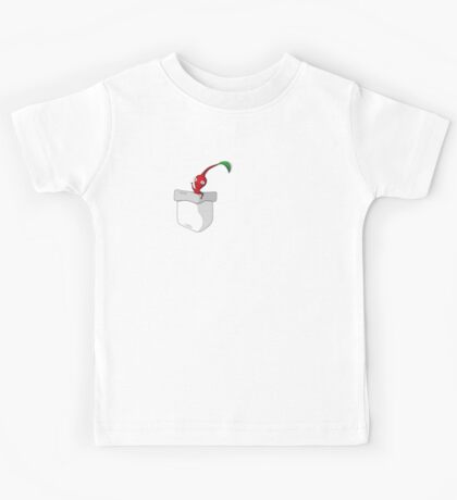 Red Pikmin in your Pocket! Kids Tee