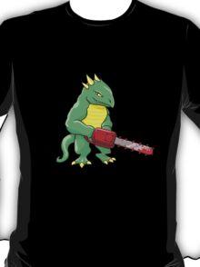 LIZARD MAN WITH CHAINSAW T-Shirt