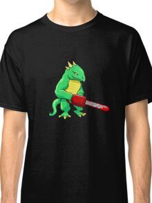 LIZARD MAN WITH CHAINSAW Classic T-Shirt