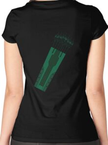Green Arrow Women's Fitted Scoop T-Shirt