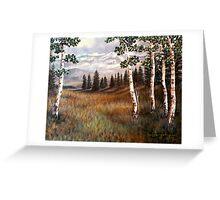 """Rocky Mountain Meadow"" Greeting Card"