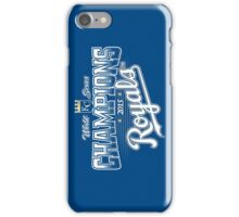 Royals champions iPhone Case/Skin