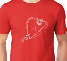 You shot a laser to my heart Unisex T-Shirt