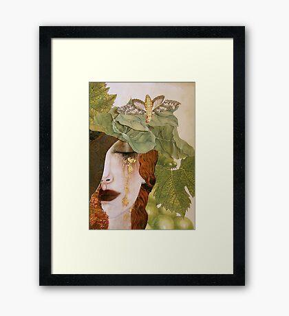 String Bean Love Framed Print