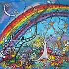 Dreamland III-acrylic by Juli Cady Ryan