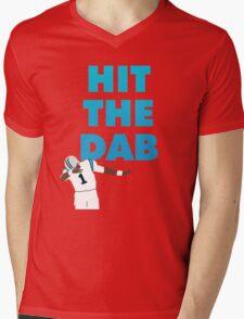 HIT THE DAB Mens V-Neck T-Shirt