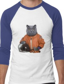 Astrocat Men's Baseball ¾ T-Shirt