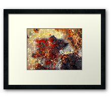 Starburst (Tabu Tabu Jasper) Framed Print