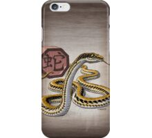 Year of the Snake (for dark shirts) iPhone Case/Skin