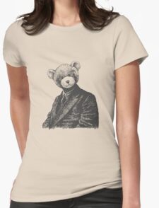 MR TEDDY Womens Fitted T-Shirt